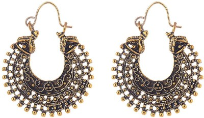 Ganapathy Gems Spring Sparkle Alloy Chandbali Earring