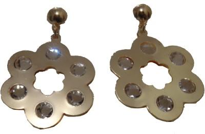 Vikash Enterprises Alloy Drop Earring, Clip-on Earring