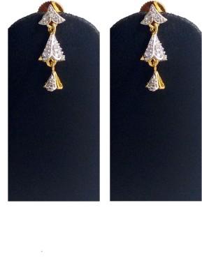 Hotpiper Designer AD Zircon, Diamond Alloy Jhumki Earring