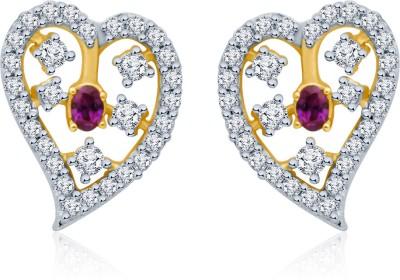 Eldora Elegant Designs Cubic Zirconia Alloy Stud Earring