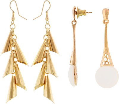 My DT Lifestyle ALLOY FASHION COMBO Metal Earring Set