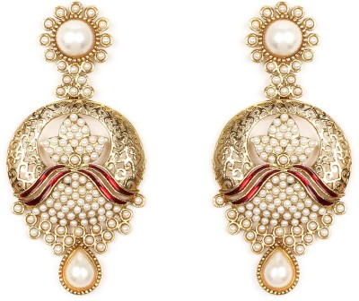 Johareez Beautiful Alloy Chandbali Earring