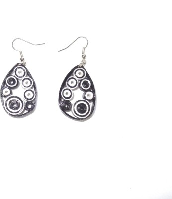 Hand to Hearts Quilling Paper Dangle Earring