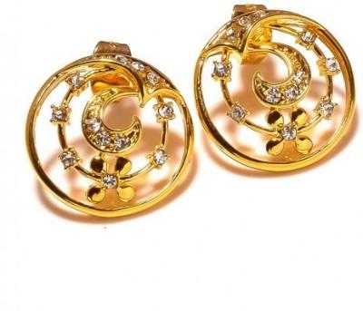 Sanaa Creations Sanaa 1ERN61 Alloy Hoop Earring