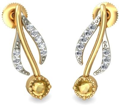 Joyra Seductive Swarovski Zirconia Sterling Silver Drop Earring