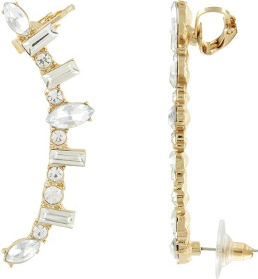 Shining Jewel Sparkling Delight Crystal Alloy Cuff Earring