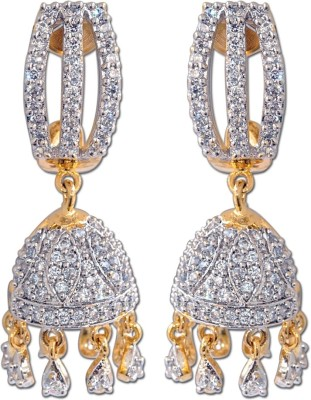 Enzy Star-Diva Jhumki for Girls Alloy Jhumki Earring
