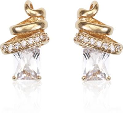 Infinity Prelude Brass Stud Earring
