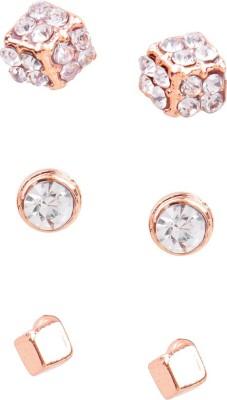Ayesha Metal Earring Set