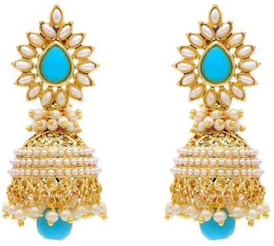 YouBella Princess Alloy Jhumki Earring