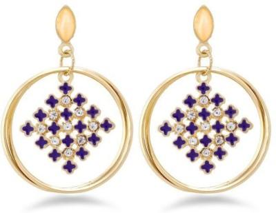 Jazz Jewellery Jazz JewelleryA D StoneEarringPurple BrassDrop Earring Alloy Drop Earring