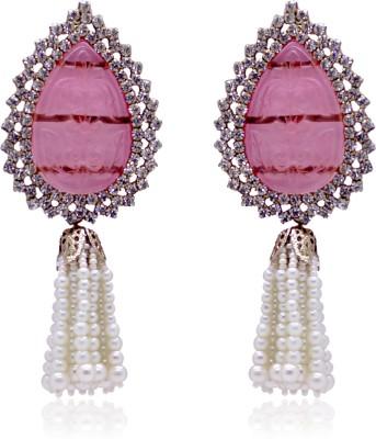 Fashion Frenzy Antique Crystal Alloy Drop Earring
