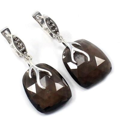 Voylla 1 Quartz Sterling Silver Hoop Earring