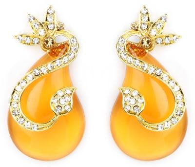 Johareez Beautiful Cubic Zirconia Alloy Drop Earring