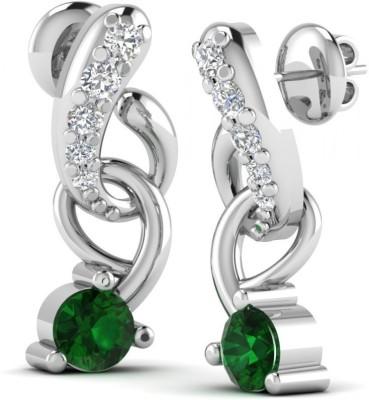 Joyra Adorned Swarovski Zirconia Sterling Silver Drop Earring