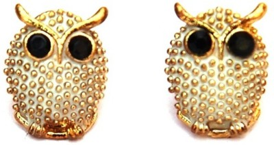 Jodhpuriyas GGP-403(C) Brass Stud Earring