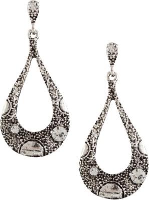 Castle Street Antique Silver Alloy Drop Earring