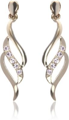 Eclat 713123R Swarovski Crystal Alloy, Brass Drop Earring