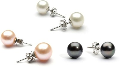 Prisha Royal Sutd Pearl Silver Stud Earring