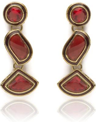Veracious Jewellery crystal earring Crystal Brass Dangle Earring