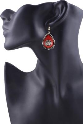 Arittra heart style German Silver Dangle Earring