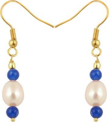 Pearlz Ocean Passionate Pearl, Jade Alloy Dangle Earring