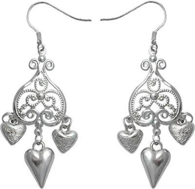 Kenway Retail Valentine Romance Brass Dangle Earring