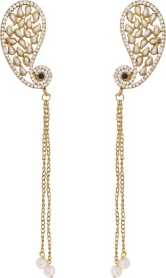 Luxor Traditional Alloy Cuff Earring