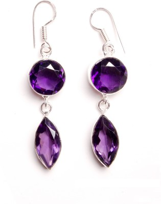 vaibhav fashion hanging Crystal Alloy Clip-on Earring