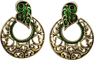The Fine World Exclusive Stone Zircon Metal Stud Earring