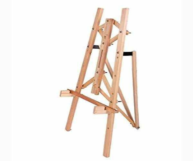 Ekta Product Wooden French Style Easel(Display, Studio, Field, Facilitation)