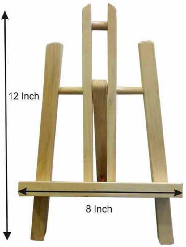 Ekta Product Wooden H-Frame Easel(Display, Studio, Mini)