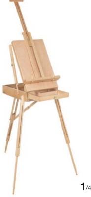 Asint Wooden Tripod Easel(Studio)