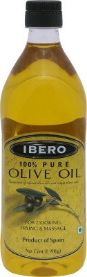Ibero Pure Olive Oil 1 L(Pack of 1)