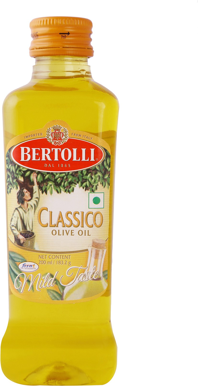 Bertolli Pure Olive Oil 200 ml