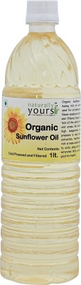 Naturally Yours Sunflower Oil 1 L(Pack of 1)