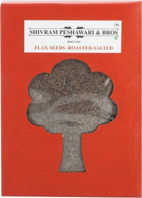 Shivram Peshawari & Bros Roasted & Salted Flax Seeds(250 g Pack of 1)