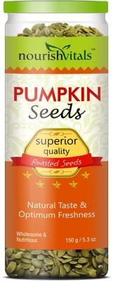 NourishVitals Roasted Pumpkin Seeds(150 g Pack of 1)