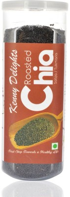 Kenny Delights Roasted Chia Seeds(150 g Pack of 1)