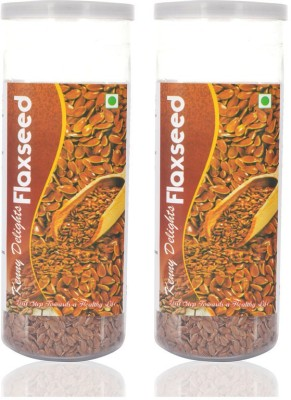 Kenny Delights Flax Seeds(300 g Pack of 2)