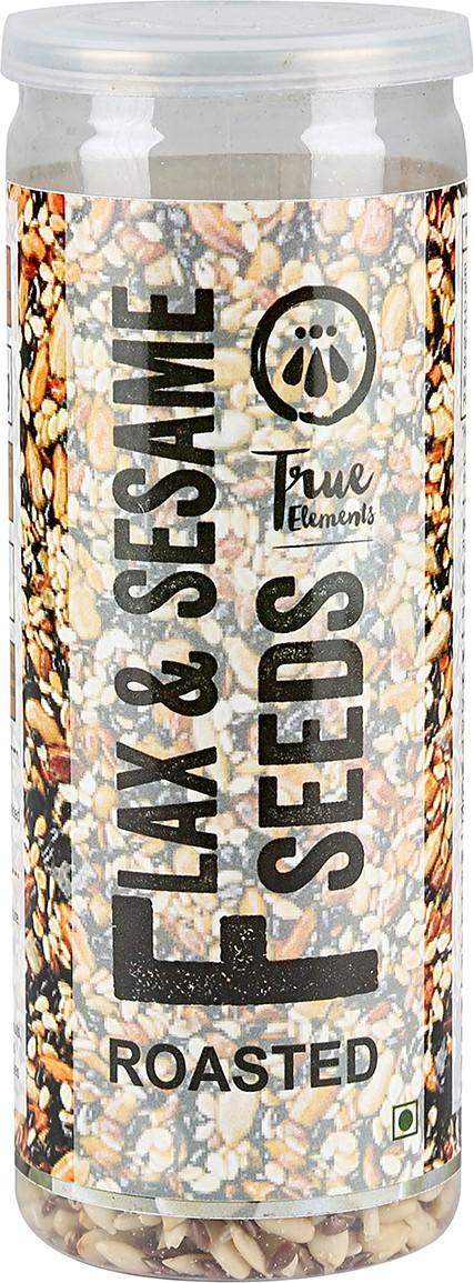True Elements Flax & Sesame Seeds