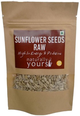Naturally Yours Raw Sunflower Seeds(250 g Pack of 5)