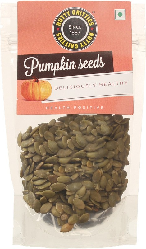 Nutty Gritties Organic Pumpkin Seeds(120 g Pack of 1)