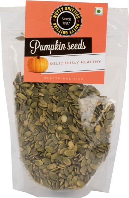 Nutty Gritties Organic Pumpkin Seeds(300 g Pack of 1)