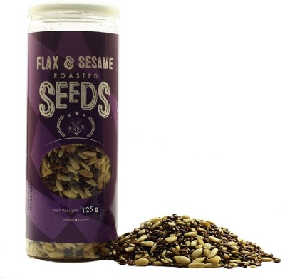 True Elements Flax and Sesame Seed(125 g Pack of 1)