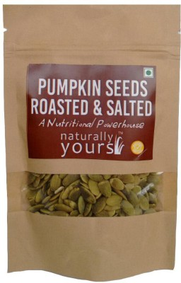 Naturally Yours Roasted and Salted Pumpkin Seeds(50 g Pack of 5)