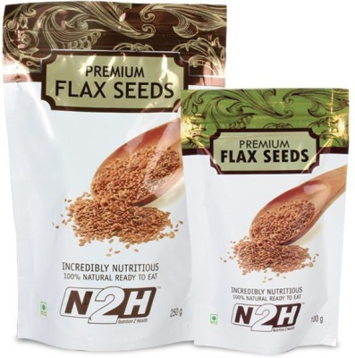 N2H PREMIUM FLAX SEEDS(100 g Pack of 1)