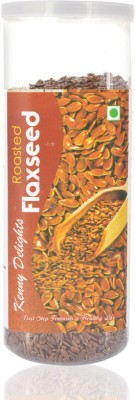 Kenny Delights Roasted Flax Seeds(150 g Pack of 1)