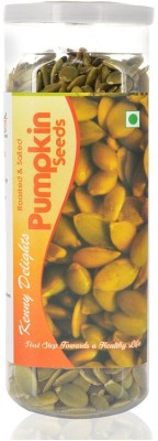 Kenny Delights Roasted & Salted Pumpkin Seeds(150 g Pack of 1)