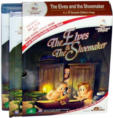 StarLight The Elves and The Shoemaker Story Book